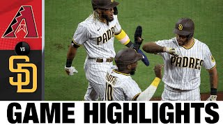 Eric Hosmer plates six RBIs in Padres' win on Opening Day   D-backs-Padres Game Highlights 7/24/20