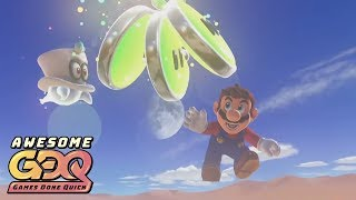 Super Mario Odyssey by Bayleef in 3:21:12 - AGDQ2019