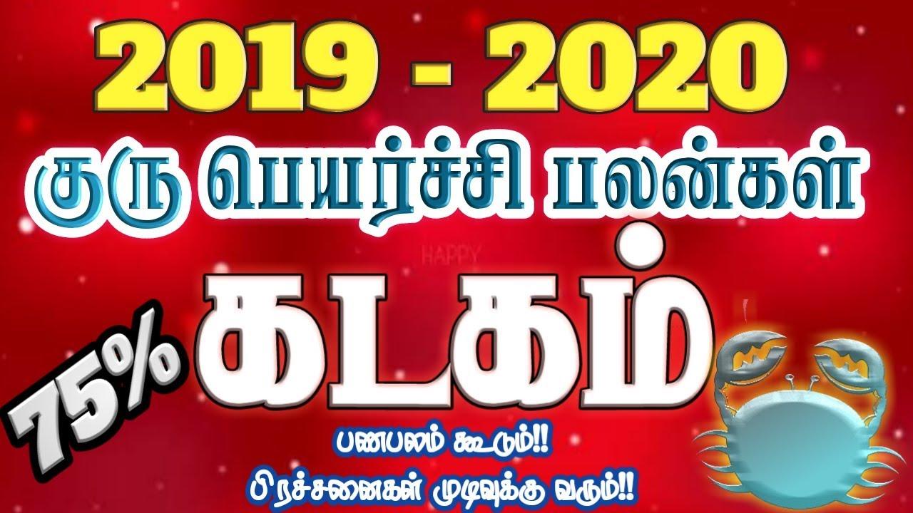 Sani Peyarchi 2020 To 2023 In Tamil Language
