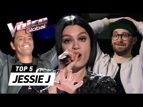 JESSIE J in The Voice | The Voice Global [PART 2]