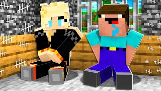 I Survived 100 Days in Minecraft Prison with Noob1234! *max security*