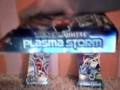 Pokemon TGC Plazma Storm Theme Deck Opening