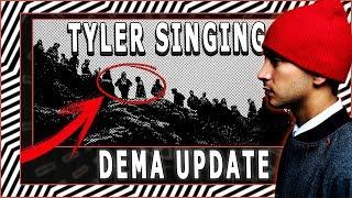 Tyler SINGING in *NEW* DEMA UPDATE!  | 2018 TWENTY ØNE PILØTS Album