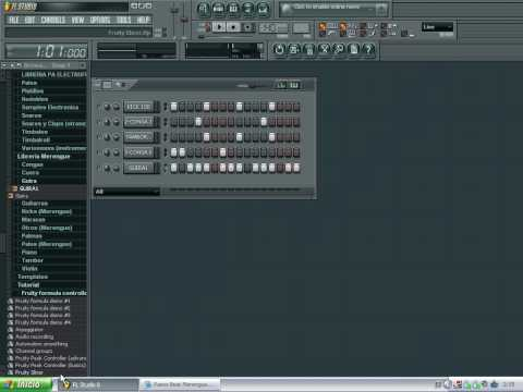 Base de Merengue en Flp Studio (Creación) Por DJ J.A..avi