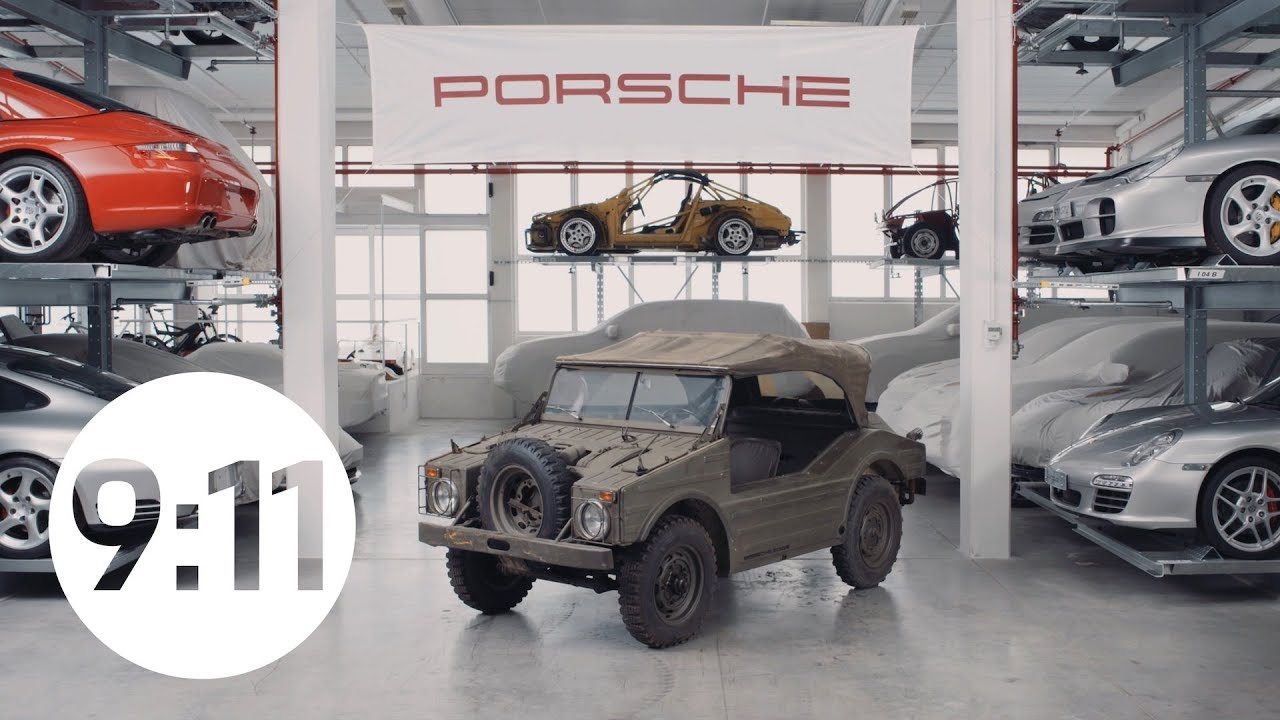 The story behind the floating Porsche all-terrain vehicle