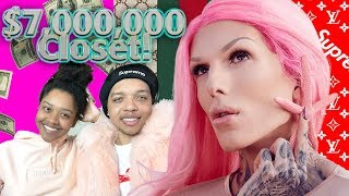 The Secret World of Jeffree Star - Shane Dawson REACTION/WENDY'S MUKBANG