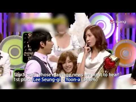 Showbiz Korea - TOP 5 STARS WHOSE MARRIAGE NEWS YOU WANT TO HEAR(결혼 소식을 들려줬으면 하는 공개 커플)