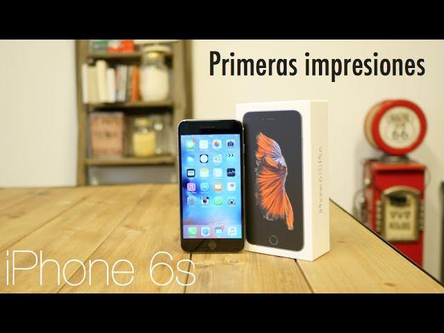 iPhone 6s Plus, primeras impresiones: lo mejor del nuevo iPhone no se ve, se toca