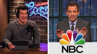 EVERYTHING WRONG WITH SETH MEYERS in 8 minutes! | Louder With Crowder