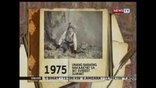 KB: Panghimagas: 1975: Junko Tabei, unang babaeng nakaakyat sa  Mt. Everest Summit