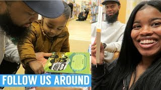 FOLLOW ME AROUND | DAY WITH MY BROTHER & BOYFRIEND!! (WHEW I'M TIRED) | VLOGMAS DAY 15