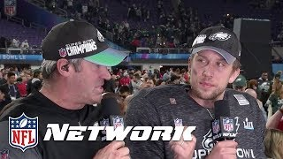 Doug Pederson & Nick Foles Talk About How They Torched the Patriots Defense   NFL GameDay Prime