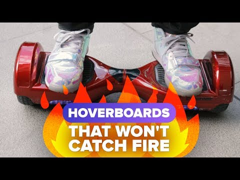 How to buy a hoverboard that won't catch fire
