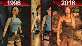 History of Tomb Raider Graphics | PC | ULTRA | 1996 - 2016