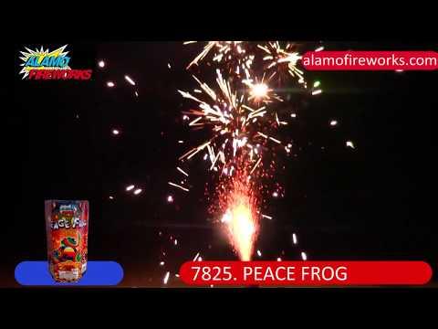 7825 Peace Frog - Alamo Fireworks