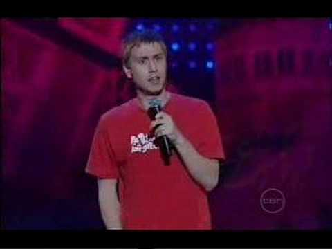 Russel Howard @ Melbourne Comedy Gala 2007 - YouTube