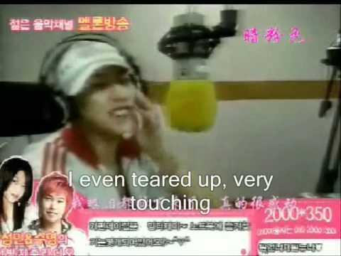[Eng sub] 071003 Chunji - Sungmin fangirling over Kyuhyun