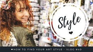 How To Find Your Art Style - Vlog #40