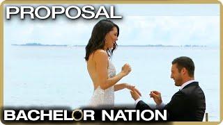 Garrett Proposes To Becca! 💍| The Bachelorette