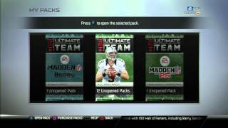 Madden 25 Ultimate Team | 20 All Pro Pack Opening | New Free Agents