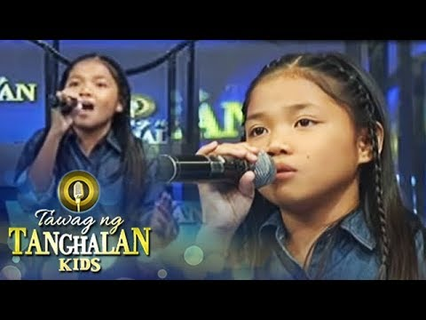 Tawag ng Tanghalan Kids: Lorraine sings her own version of