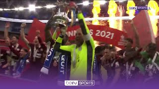 FULL trophy celebrations as Leicester lift maiden FA Cup | FA Cup 20/21 Moments