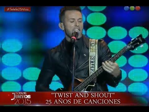El jurado de Elegidos y su emotivo musical - Todos Juntos 2015