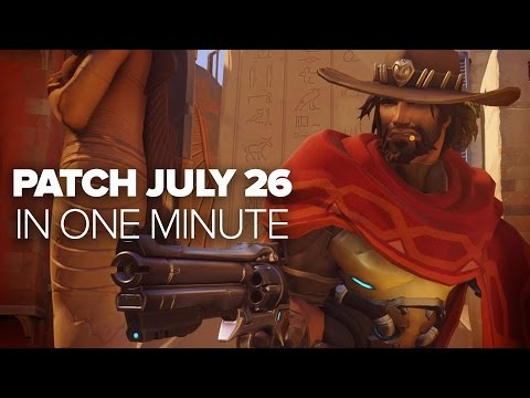 Overwatch Patch July 26 - In a Minute