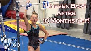 Uneven Bars after Elbow Surgery | Whitney Bjerken Gymnastics
