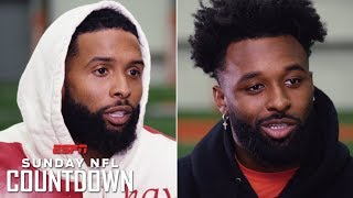 Odell Beckham Jr., Jarvis Landry on reunion, Browns' hype, Baker Mayfield connection | NFL Countdown