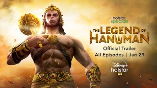 Hotstar Specials The Legend of Hanuman | Official Trailer | Streaming From January 29