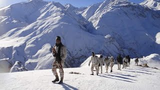 ITBP Himveers training in Auli