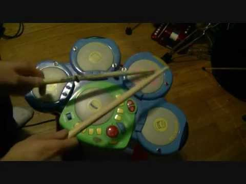 circuit bent groovy tunes toy drum machine youtube. Black Bedroom Furniture Sets. Home Design Ideas