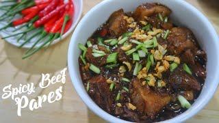 Spicy Beef Pares