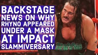 """Rhyno On How WWE Treats Talent, Says Other Promotions Are """"Nipping At WWE's Feet"""""""