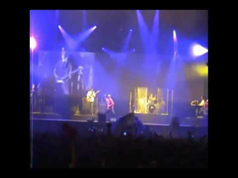 Indio Solari - Me matan limón! - La Plata 20-12-08 (audio de consola)