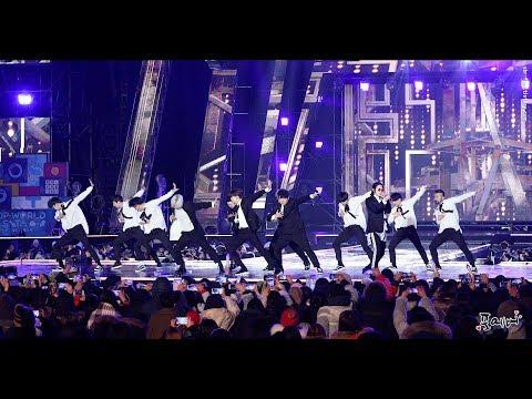4K 180224 슈퍼주니어(Super Junior) Fullcam Nocut [케이팝 월드 페스타] 직캠(fancam) by 포에버