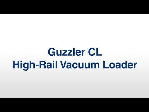 Guzzler High-Rail Vacuum Loader