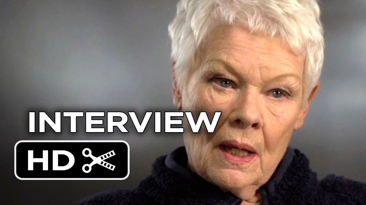 Philomena Judi Dench Steve Coogan 2013 Philomena Interview