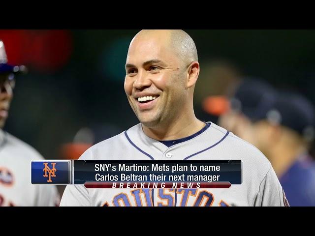 MLB/史上首位拉丁系出身 貝爾川接任大都會總教練