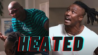 Debate between Brandon Marshall and Chad Johnson gets HEATED!!
