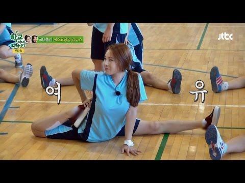 CG 아니야?! 체조(Rhythmic Gymnastics) 요정 신수지(Shin Soo-ji)의 갈라쇼 '경악' 학교 다녀오겠습니다 59회
