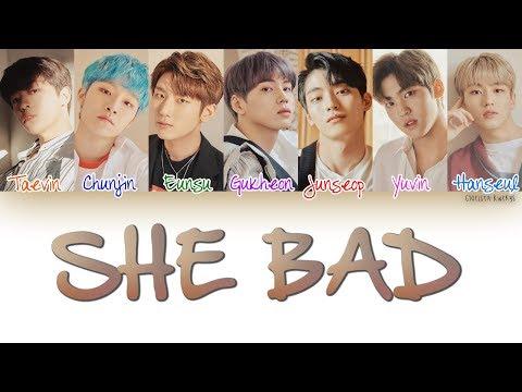MYTEEN (마이틴) – SHE BAD | Han, Rom, Eng (COLOR CODED Lyrics)