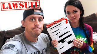 We're Getting Sued :(