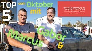 Unsere TOP 5 im Oktober - Regierung, CEO VW, Social Media, Zeitreisen, Umtauschprämie, Investments