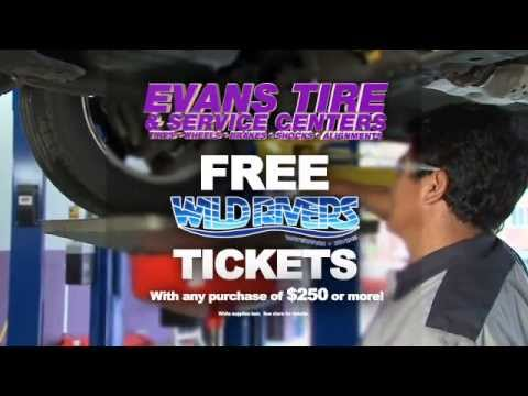 Evans Tire - Free Alignment Promo Commercial