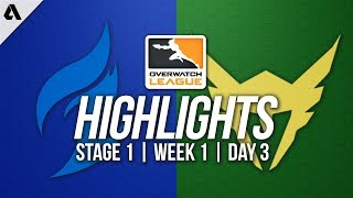 Dallas Fuel vs Los Angeles Valiant ft SoOn Seagull   Overwatch League Highlights OWL Week 1 Day 3