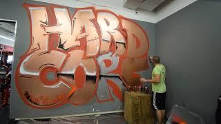 Graffiti at Iron Religion
