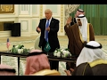 Trump signs Saudi arms deal on first foreign trip..