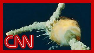 1986: Space Shuttle Challenger disaster Live on CNN